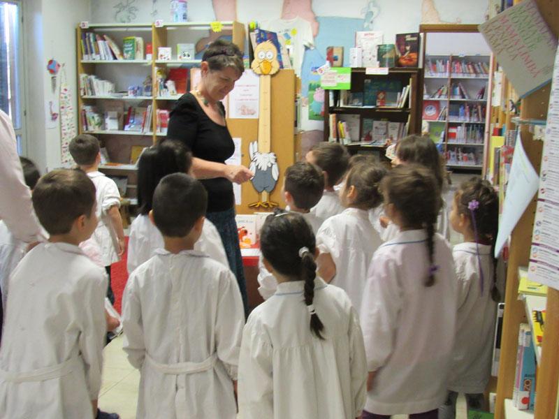 Visita alla biblioteca comunale di Gessate